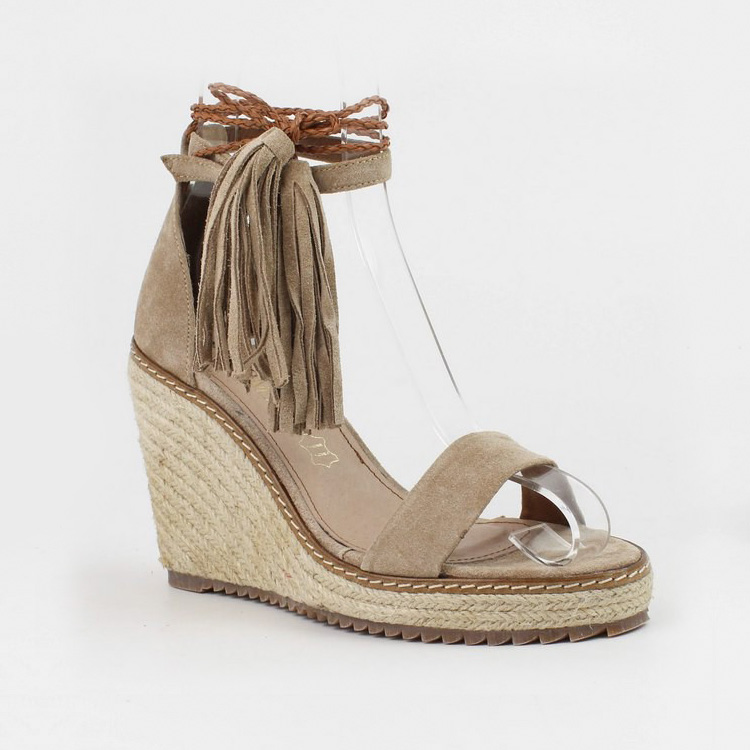 Tassle Wedge by Carmela